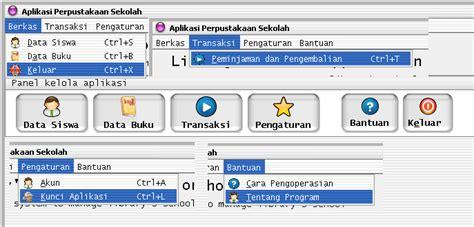 desain database aplikasi perpustakaan aplikasi perpustakaan sekolah menggunakan delphi7 dan