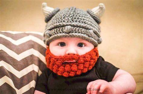 knit viking hat with beard pattern baby knitting patterns lael viking crochet hat with bobble