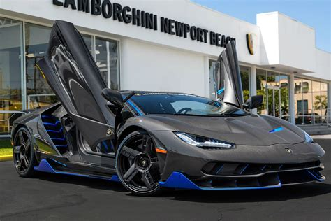 Lamborghini Usa Dealers The Lamborghini Centenario Sold In The U S Was