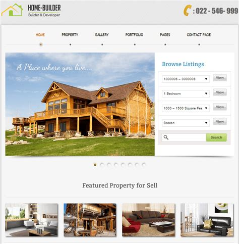 15 best real estate themes for agents inkthemes