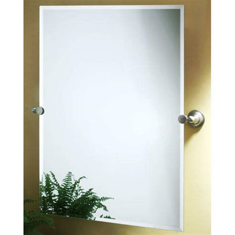 tilting bathroom mirror max collection rectangular tilting mirror bathroom