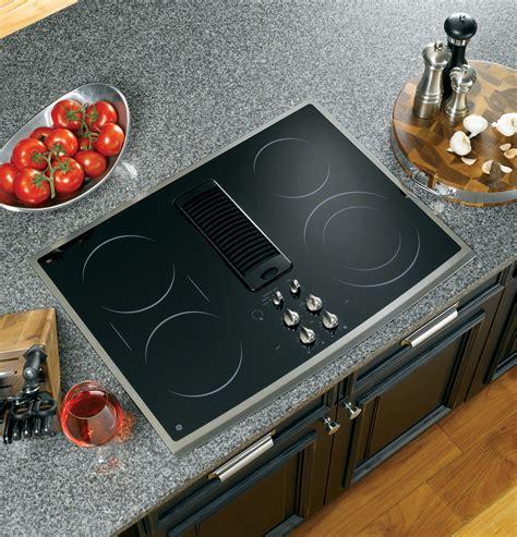 Countertop Cooktops Electric Ge Profile Series 30 Quot Downdraft Electric Cooktop