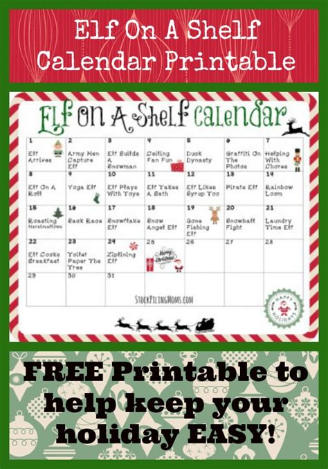 printable elf on a shelf pictures elf on the shelf farewell letter new calendar template site