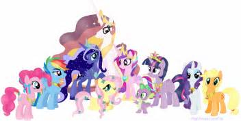 My little ponies friendship is magic names my little pony friendship