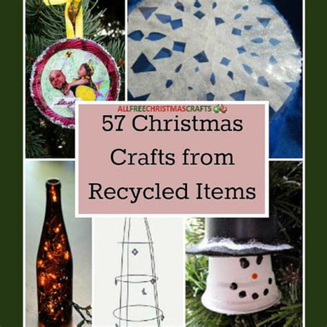 28 best christmas crafts from recycled items bloesem