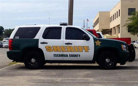 escambia county sheriff s office pack vehicle models