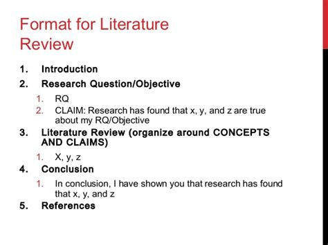 literature review outline template choice image template design ideas