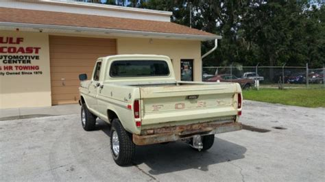 1970 ford f100 2wd regular cab for sale near summerville south carolina 29483 classics on 1970 ford f100 custom short bed 4x4 original paint california truck for sale photos technical