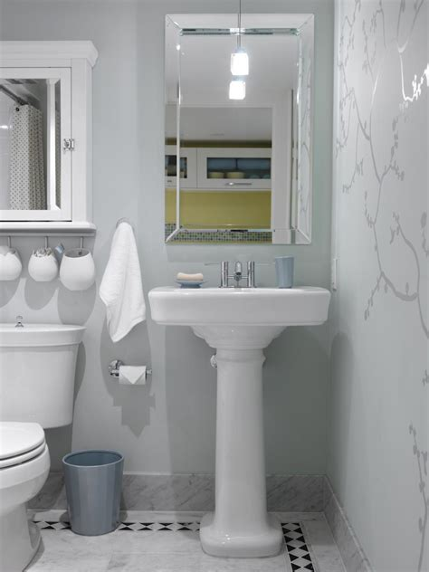 hgtv bathroom designs small bathrooms 20 small bathroom design ideas hgtv