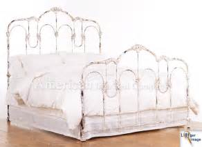 King Size Metal Headboard And Footboard Antique Iron Beds American Iron Bed Company Authentic