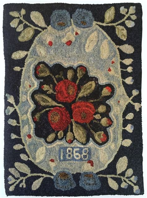 punch needle rug 528 best images about rug hooking on hooked rugs wool and rug patterns