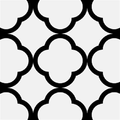 quatrefoil pattern image quatrefoil stencil clipart best