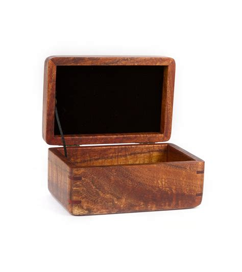 small jewelry box small tsumoto koa jewelry box