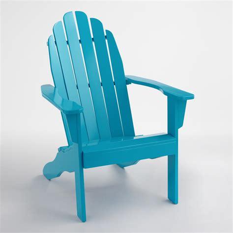 Adirondack Chairs World Market by Surf Blue Adirondack Chair World Market