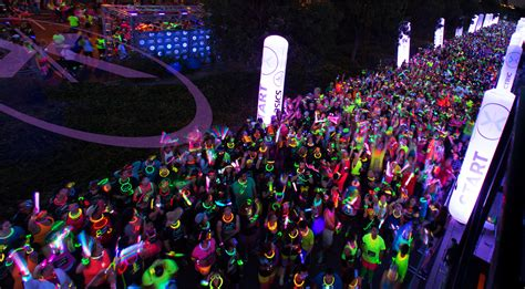 glow in the paint run get your glow on downtown peggy
