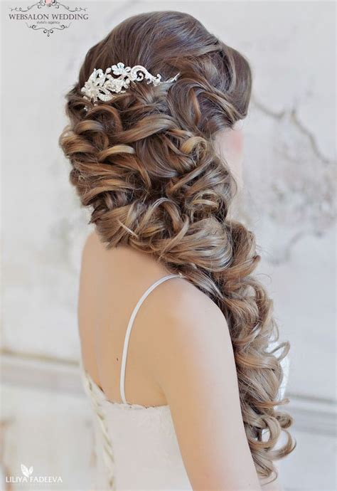 Wedding Hairstyles No Curls by 10 Glamorous Wedding Hairstyles You Ll Crazyforus