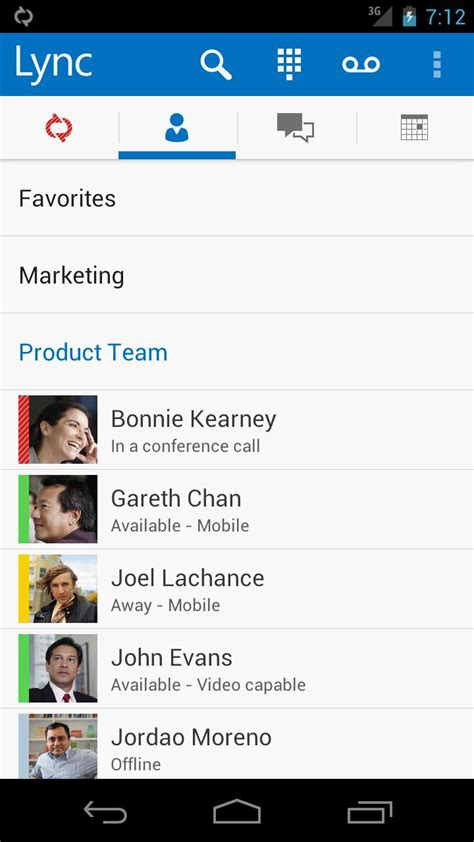 microsoft lync 2013 for android microsoft releases lync 2013 for android brings holo to the collaboration