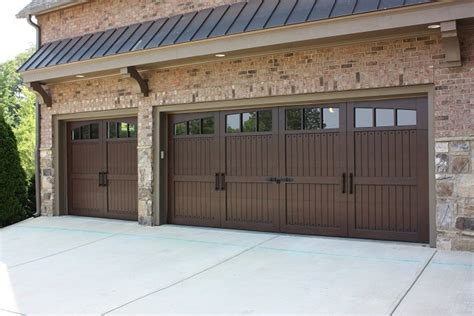 craftsman garage door custom carriage doors