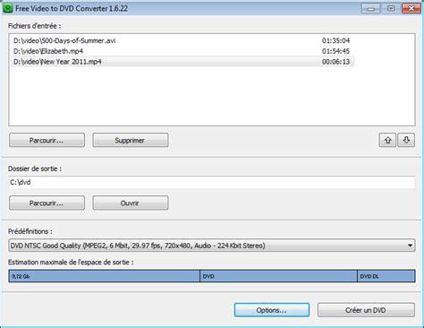 Converter Format Dvd   le logiciel gratuit de conversion vid 233 o en dvd