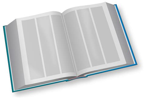 big book pictures file big book blue svg