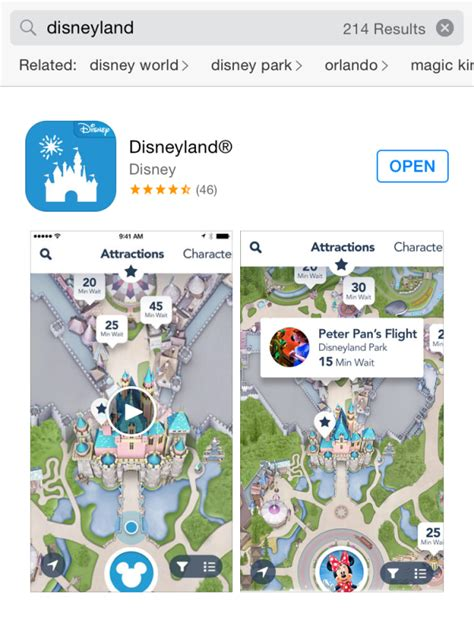 disneyland map app how to navigate the official disneyland app this