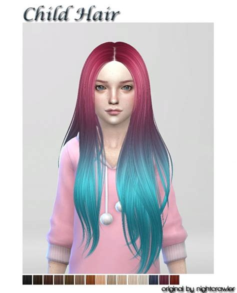 child sims 4 hair newhairstylesformen2014 com tsr sims 4 child girl hair newhairstylesformen2014 com