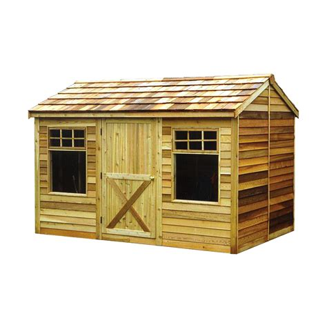 cedar shed  ft   ft haida shed lowes canada