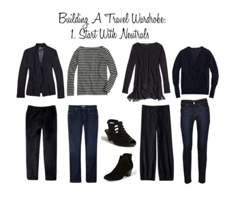 Travel Wardrobes by Building A Carry On Travel Wardrobe