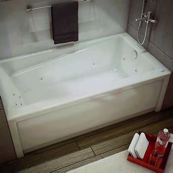 maax bathtub installation maax new town whirlpool bathtub with right hand drain