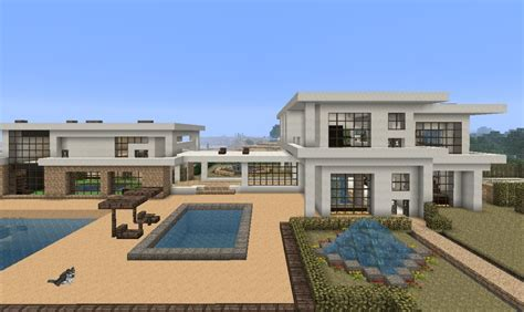 modern house blueprint minecraft modern house blueprints minecraft seeds