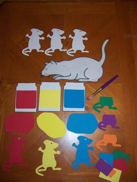 Mouse Paint Template mouse paint recipes for reading