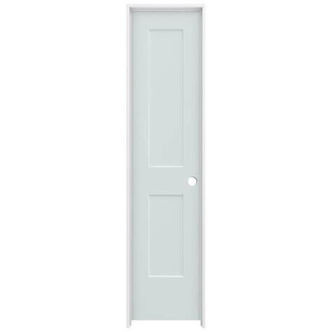 20 X 80 Interior Door Jeld Wen 20 In X 80 In Smooth 2 Panel Light Gray Solid Molded Composite Single Prehung