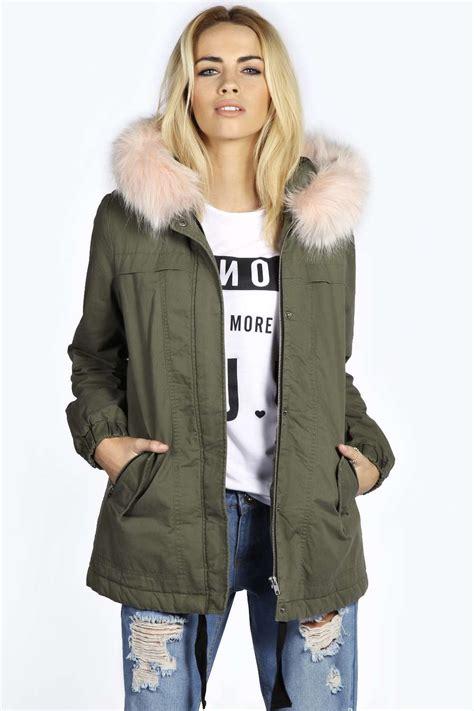 Parka Jaket By Salsabila Colection khaki parka coat jacketin