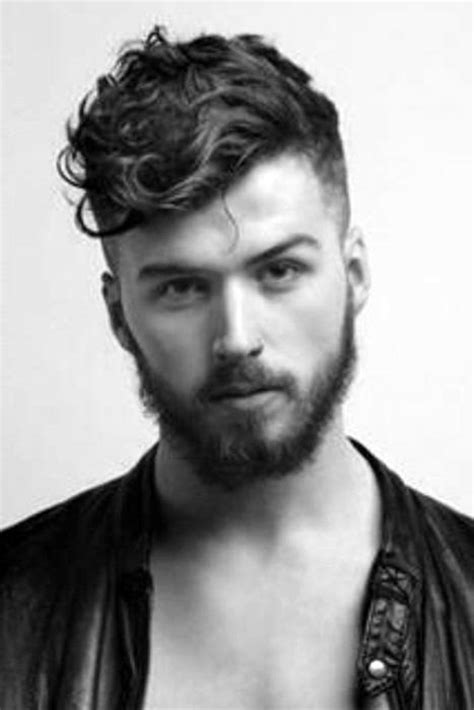 guy semi curly hairstyles 25 curly fade haircuts for men manly semi fro hairstyles