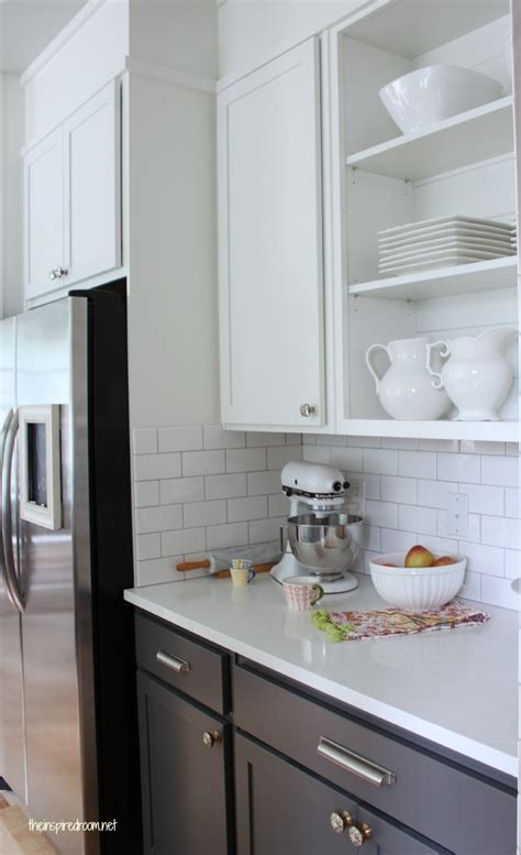 Kitchens With White Cabinets by Gray Kitchen White Cabinets Dove White Upper Cabinet
