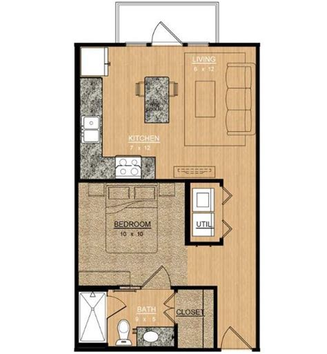 Qmc Floor Plan by Magnolia At Bishop Arts Rentals Dallas Tx Apartments Com