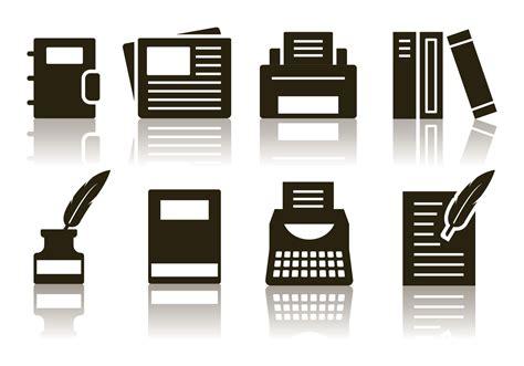minimalist icon free minimalist writer icon set free vector