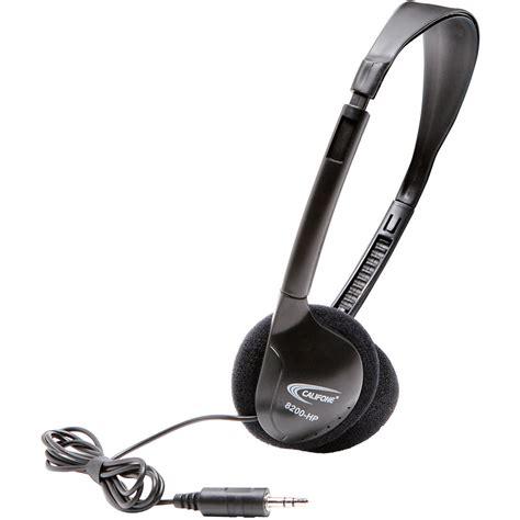 Headset Clation Mdr520 Digital Stereo califone digital stereo wired headphones 8200 hp b h photo