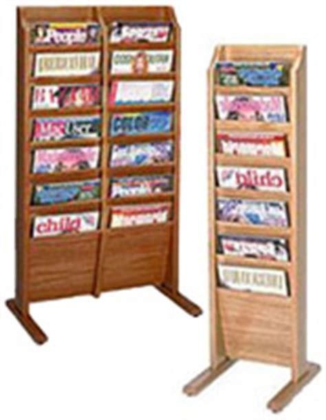 Magazine Stand   Literature Floor Displays for Brochures