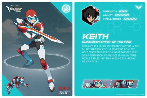 age of agility books image voltron legendary defender keith jpg voltron