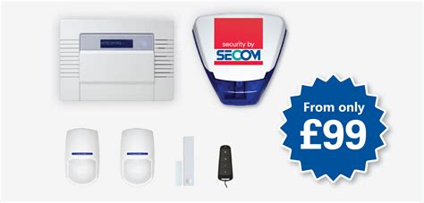 home secure home security package 187 secom security