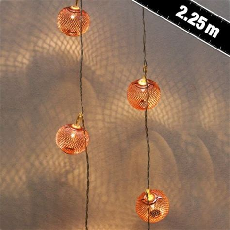 copper string lights copper lantern string lights