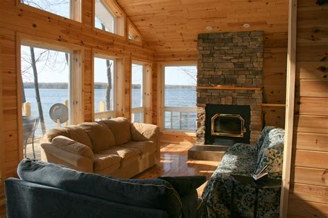 Small Living Room Ideas With Fireplace miller lake ontario cottage rental loon lodge 187 living
