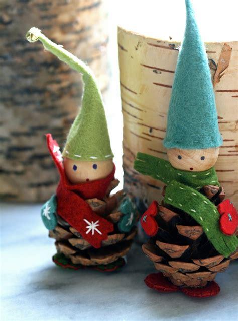 Weihnachtswichtel Filzen Anleitung by Wichtel Basteln Mit Diesen 16 Schnellen Witzigen Bastelideen