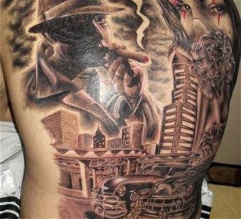 small gangster tattoos gangster tattoos