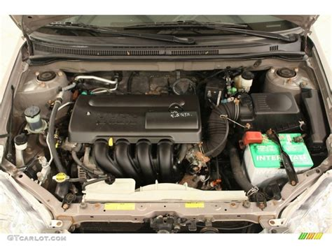2004 Toyota Corolla Engine 2004 Toyota Corolla S Engine Photos Gtcarlot