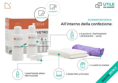 trattamento anticalcare doccia trattamento anticalcare e ripristino in kit per box doccia