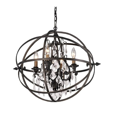 Chandelier And Pendant Lighting Orb Chandelier Pendant Light In Bronze Finish F2995 Destination Lighting
