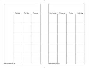printable monthly calendar full page