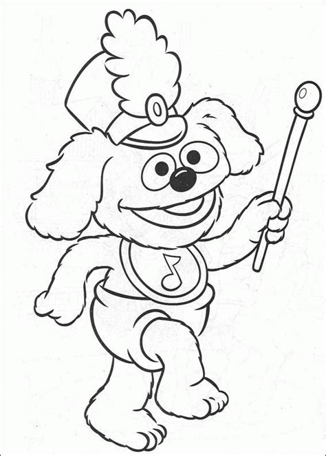 Muppets Baby Coloring Pages Coloringpages1001 Com Muppet Coloring Pages